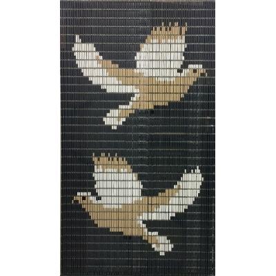 Vliegengordijn op maat: duiven (bouwpakket)